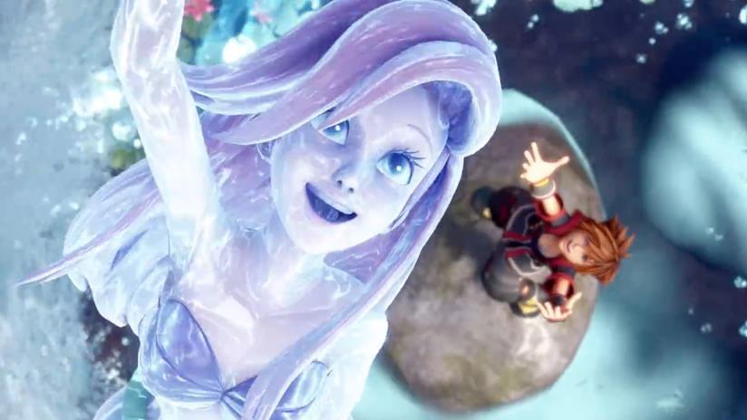 La summon di Ariel in Kingdom Hearts III