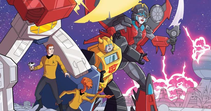 Star Trek vs Transformers, il crossover a fumetti