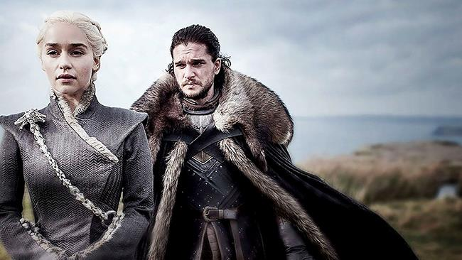 Daenerys Targaryen e Jon Snow in Game of Thrones 7