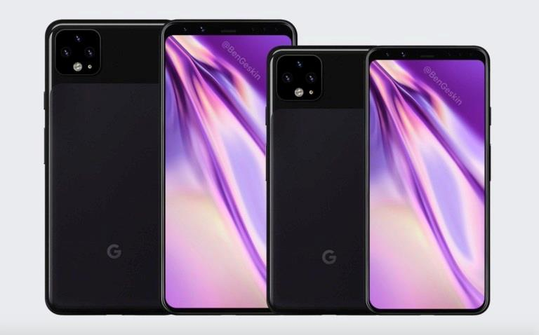 Concept di Google Pixel 4 e Pixel 4 XL