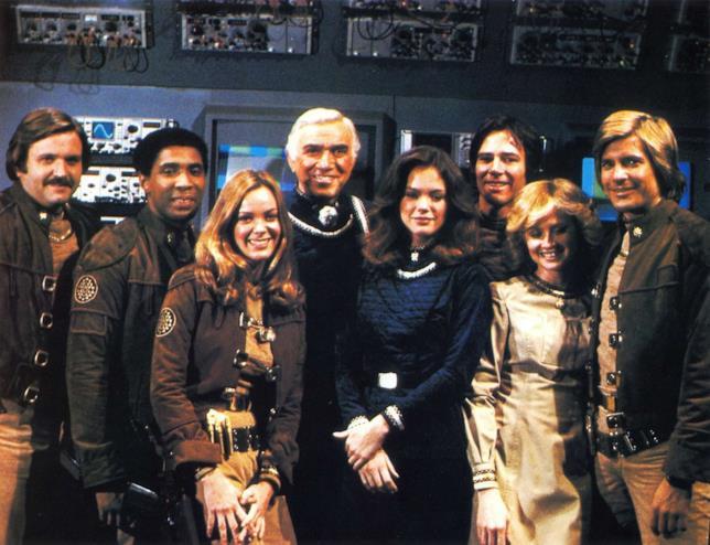 L'equipaggio dell'astronave Galactica