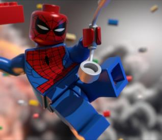 Spider-Man in azione nei videogiochi LEGO