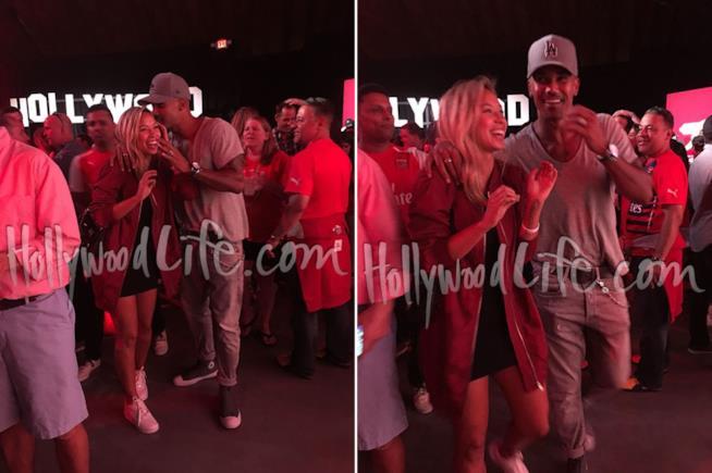 Shemar Moore ad un evento con la fidanzata Shawna Gordon