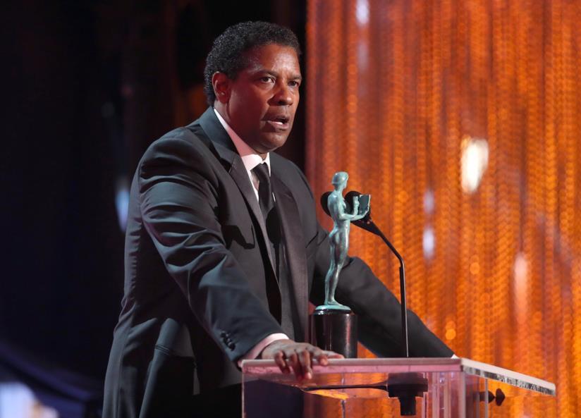 Denzel Washington ai SAG Awards 2017