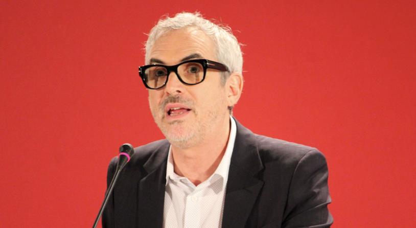Alfonso Cuarón al photocall veneziano