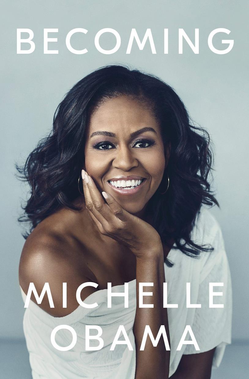 Michelle Obama sulla copertina di Becoming