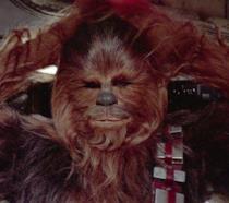 Il personaggio Chewbacca di Star Wars
