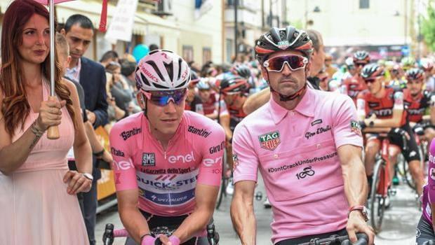 Patrick Dempsey ospite della settima tappa Giro d'Italia 2017