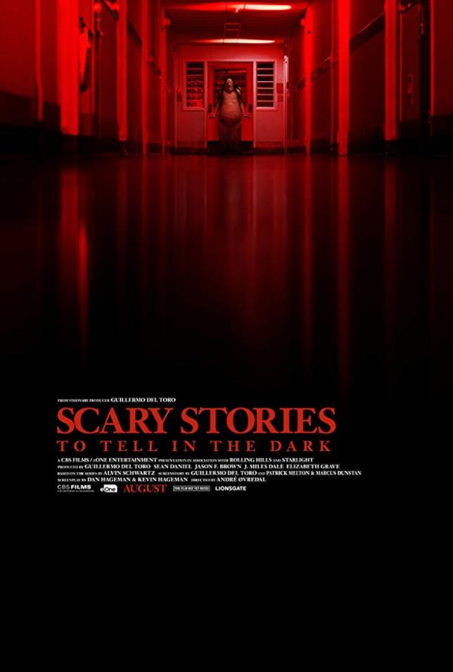 Il poster ufficiale di Scary Stories to Tell in the Dark