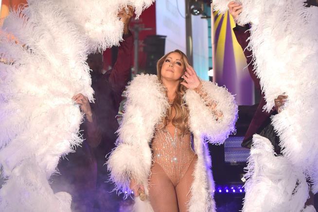 Mariah Carey a Times Square