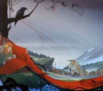 La splendida cover art ufficiale del primo Banner Saga