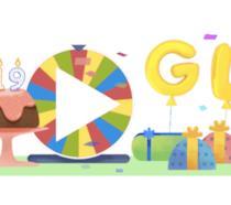 Il Doodle di Google per i suoi 19 anni