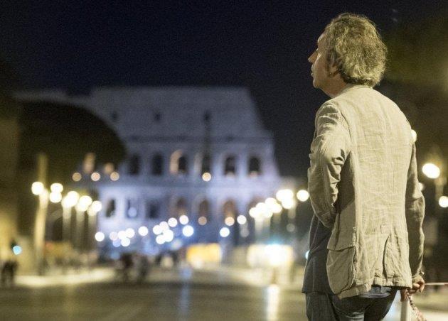 Paolo Sorrentino a Roma per le riprese di Loro