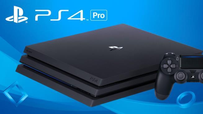 Immagine stampa di PS4 Pro