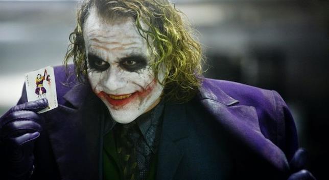 Il Joker in primo piano
