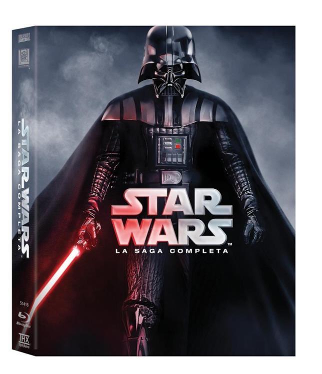 Star Wars - La Saga Completa Cofanetto Blu-ray