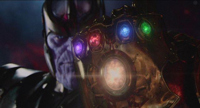 Un'immagine dell'antagonista di Avengers: Infinity War