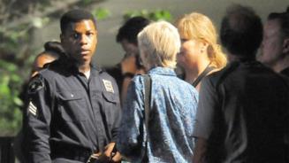John Boyega sul set del film Detroit
