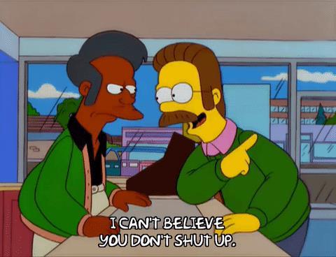 Apu e Ned al Jet Market