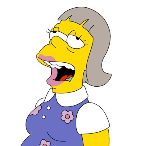 Abbie Simpson ricorda molto Homer...