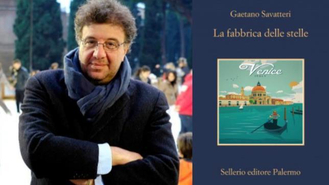 Gaetano Savatteri e il suo ultimo lavoro, La fabbrica delle stelle