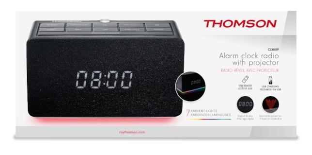 La confezione della Thomson CL300P