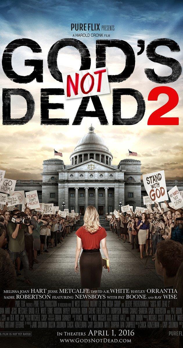 Poster originale del film God's Not Dead 2