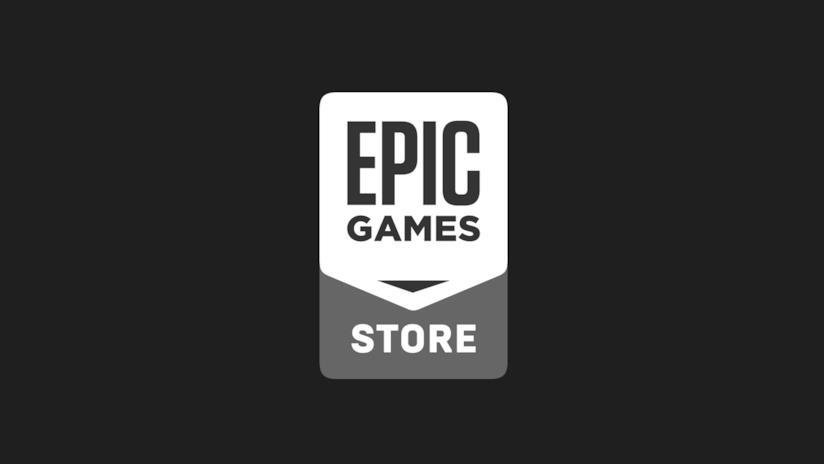 Il logo di Epic Games Store, il nuovo negozio digitale di videogiochi per PC