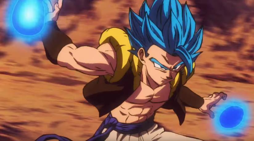 Dragon Ball Super Broly. Gogeta SSJ Blue