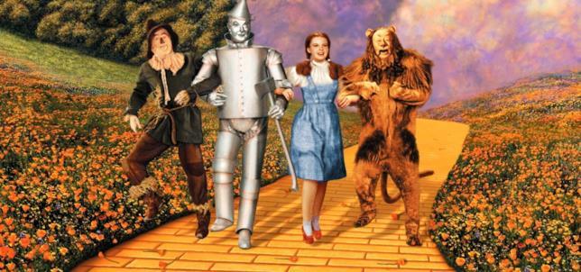 Una scena de Il Mago di Oz