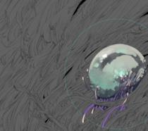Un dettaglio della copertina di Borne