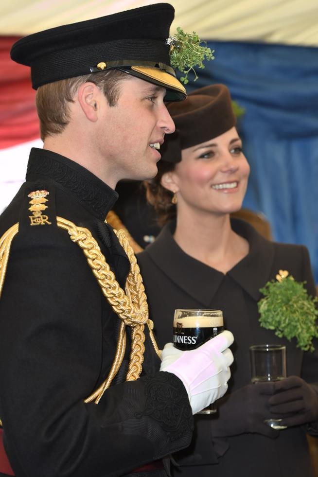 William e Kate con le loro birre Guinness