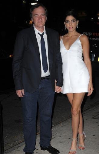 Quentin Tarantino e la fidanzata Danielle