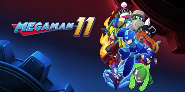 Mega Man 11 personaggi