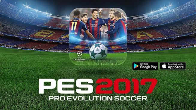 La copertina ufficiale di PES 2017 Mobile