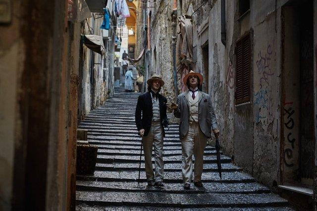Rupert Everett a Napoli