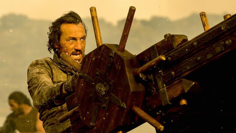 Bronn in un'immagine da Game of Thrones