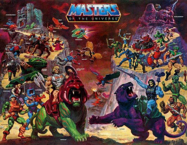 I Masters Of The Universe al gran completo