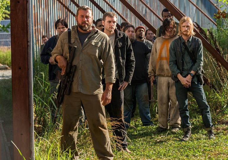 The Walking Dead 7x04: I Salvatori con Daryl