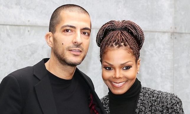 Primo piano di Janet Jackson e Wissam Al Mana