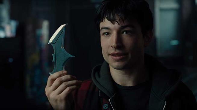 Ezra Miller è Flash in Justice League