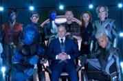 Bryan Singer col cast di X-Men: Apocalisse