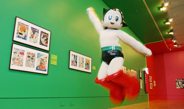 Osamu Tezuka e Astroboy