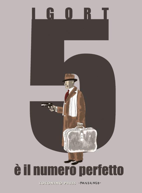 La cover del fumetto 5 è il numero perfetto