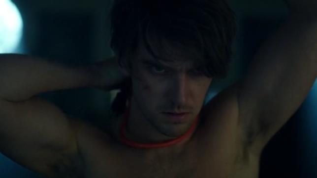 David tenta il suicidio in una scena tratta dal primo episodio di Legion