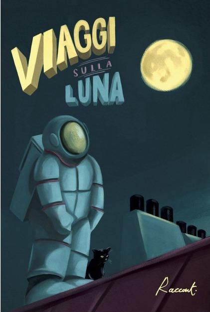 La copertina di Viaggi sulla luna