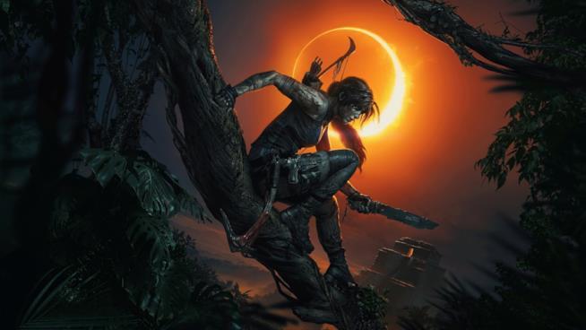 Il primo artwork ufficiale di Shadow of the Tomb Raider