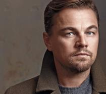 Un primo piano di Leonardo Di Caprio