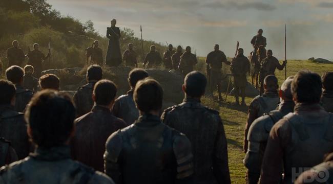 Daenerys nell'episodio 5 di Game of Thrones 7