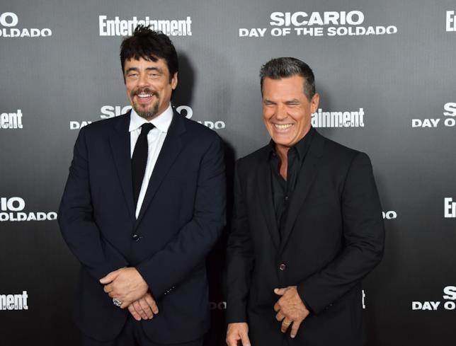 Benicio Del Toro e Josh Brolin